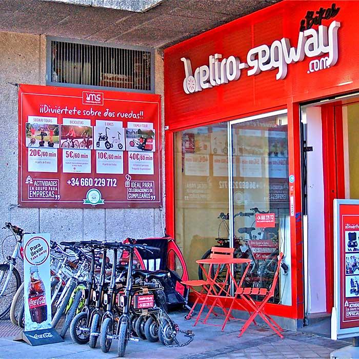 alquiler bicicletas madrid